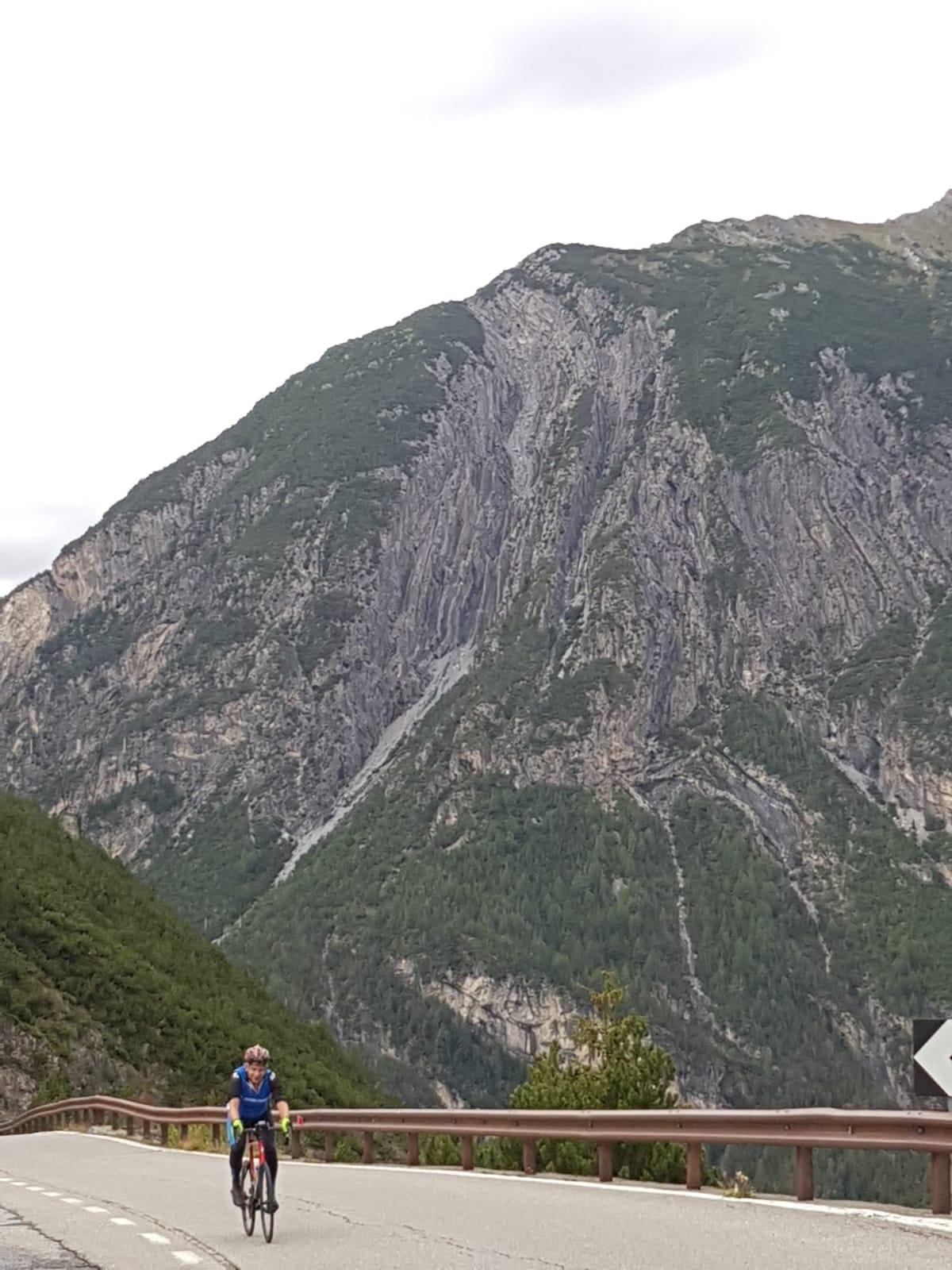 Climbing the Stelvio